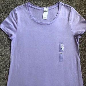 Gap lilac favorite scoop neck T shirt